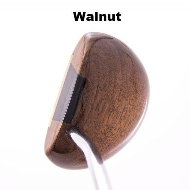 Authentic Wood Mallet Putter - Louisville Golf