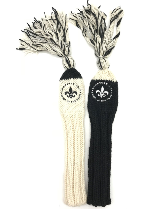 Hand-Knitted Hybrid/Cleek Headcover - Louisville Golf