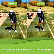 IMPACT SNAP before after golf release trainer swing tool training aid