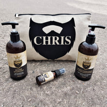 personalised beard care kit
