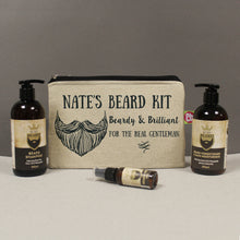 personalised beardy and brilliant beard kit