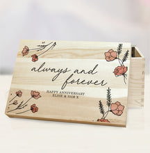personalised always and forever memory box