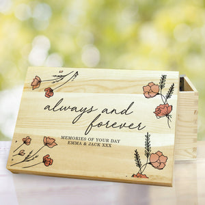 Always and Forever Memory Box
