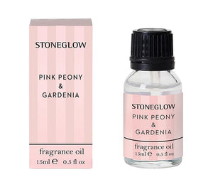 stoneglow fragrance oil pink peony and gardenia