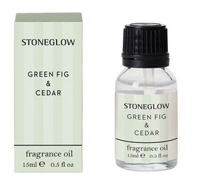 stoneglow fragrance oil green fig and cedar