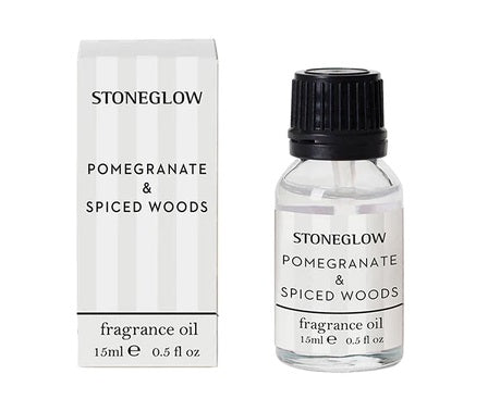 stoneglow fragrance oil pomegranate and spiced woods
