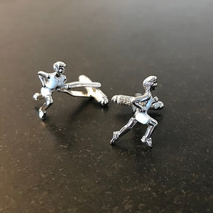 athlete cufflinks