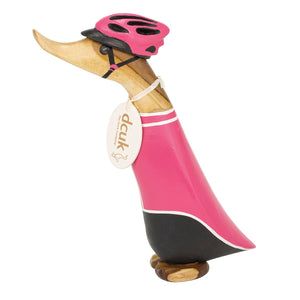 dcuk cycling duckling in pink jersey