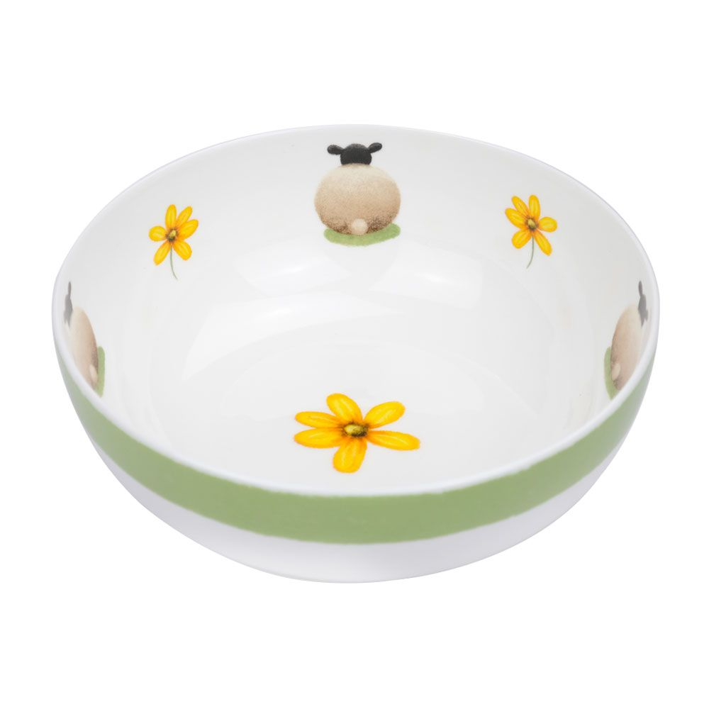 lucy pittaway sheep and daisy bowl