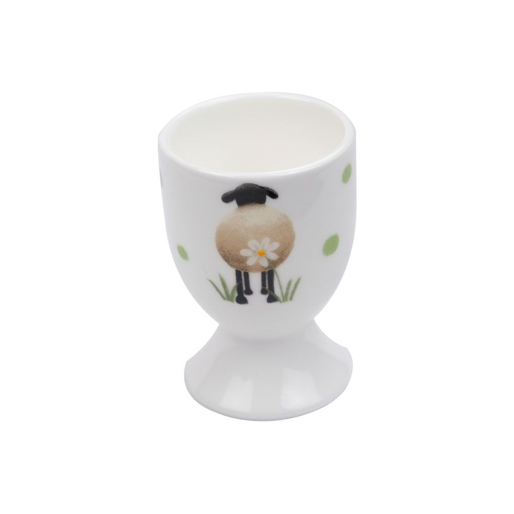 lucy pittaway sheep and daisy egg cup