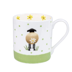 lucy pittaway sheep and daisy mug