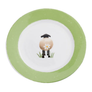 lucy pittaway sheep and daisy side plate