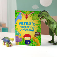 personalised perfect pet dinosaur book