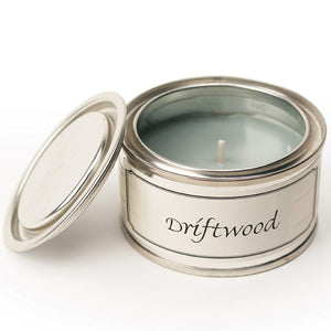 pintail driftwood candle