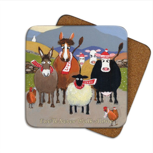 thomas joseph ewe'll never walk alone coaster