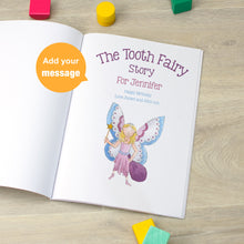 personalised tooth fairy story book