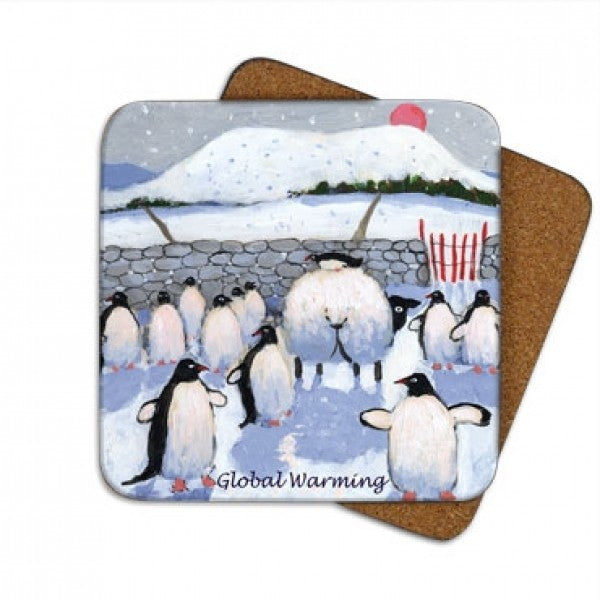 global warming coaster