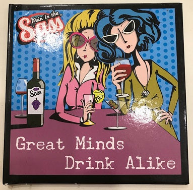 book great minds drink alike