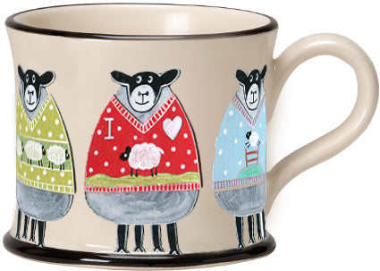 woollly jumpers mug