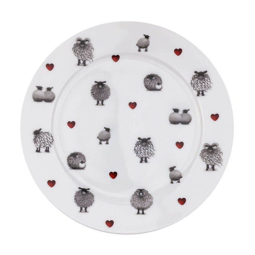 lucy pittaway black and white side plate