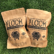 flock natural wool for blister protection
