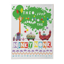 personalised ninky nonk canvas