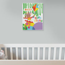personalised upsy daisy kite canvas