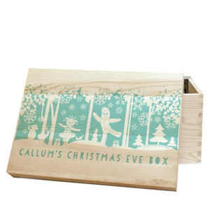 personalised in the night garden snowtime christmas eve box