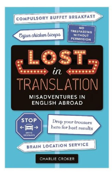 Lost In Translation Book by Charlie Croker