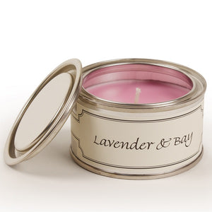 pintail lavender and bay candle