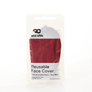 eco friendly red face mask