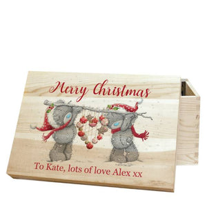 personalised me to you christmas memory box