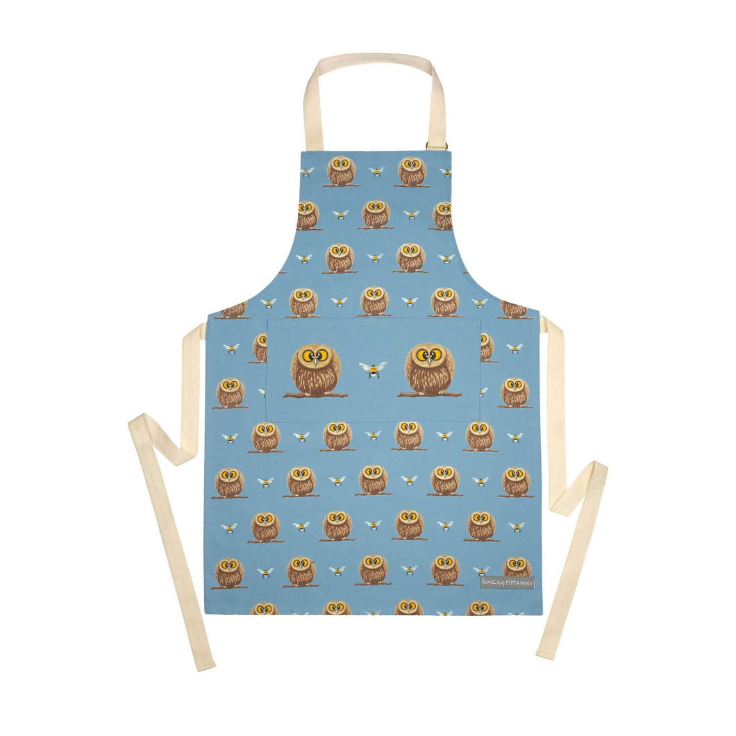 lucy pittaway owl child apron
