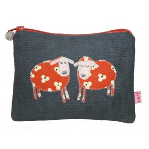 sheep coin purse grey