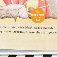 personalised pirate story book