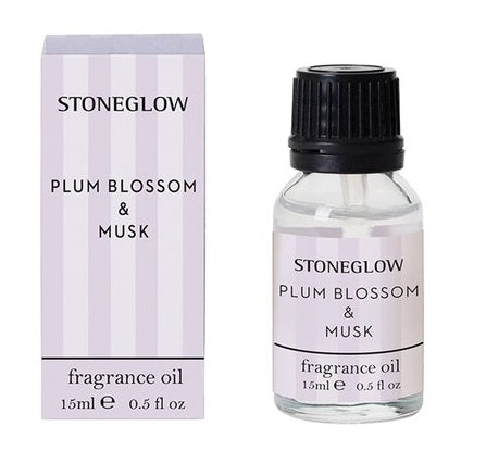 stoneglow fragrance oil plum blossom and musk