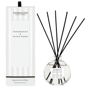 pomegranate and spiced woods reed diffuser