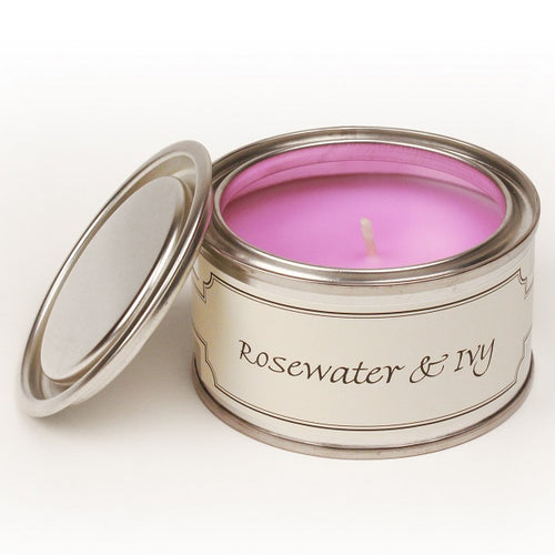 pintail rosewater and ivy candle