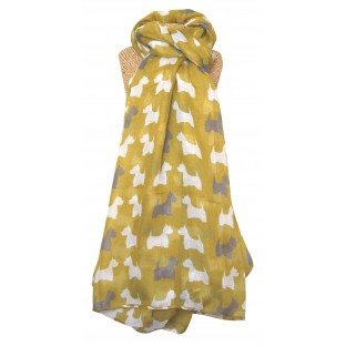 scotty scarf mustard