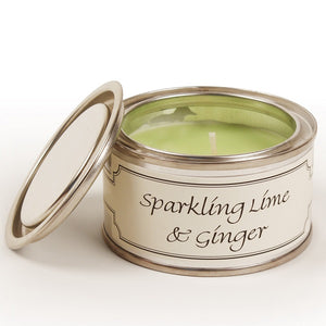 pintail lime and ginger candle