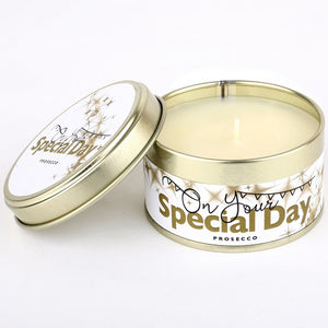 pintail on your special day candle