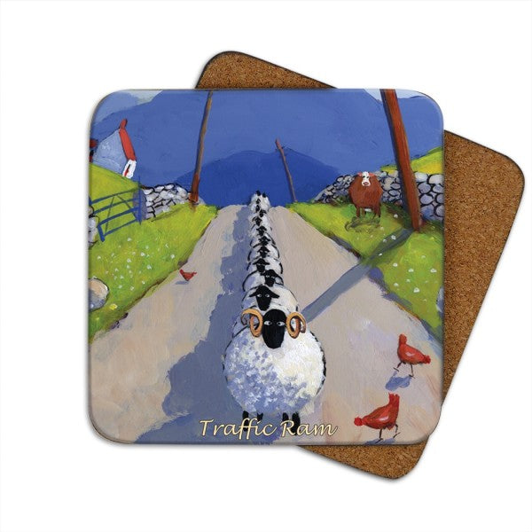 traffic ram coaster