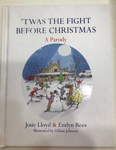 book twas the fight before chrismas