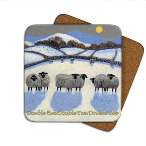double ewe dot coaster