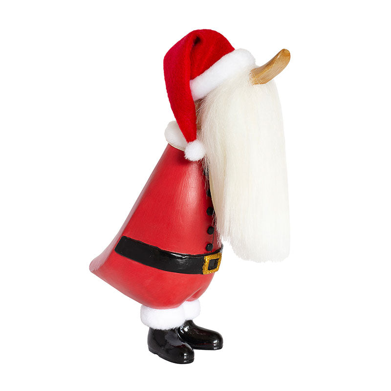 dcuk duckling santa in red santa suit