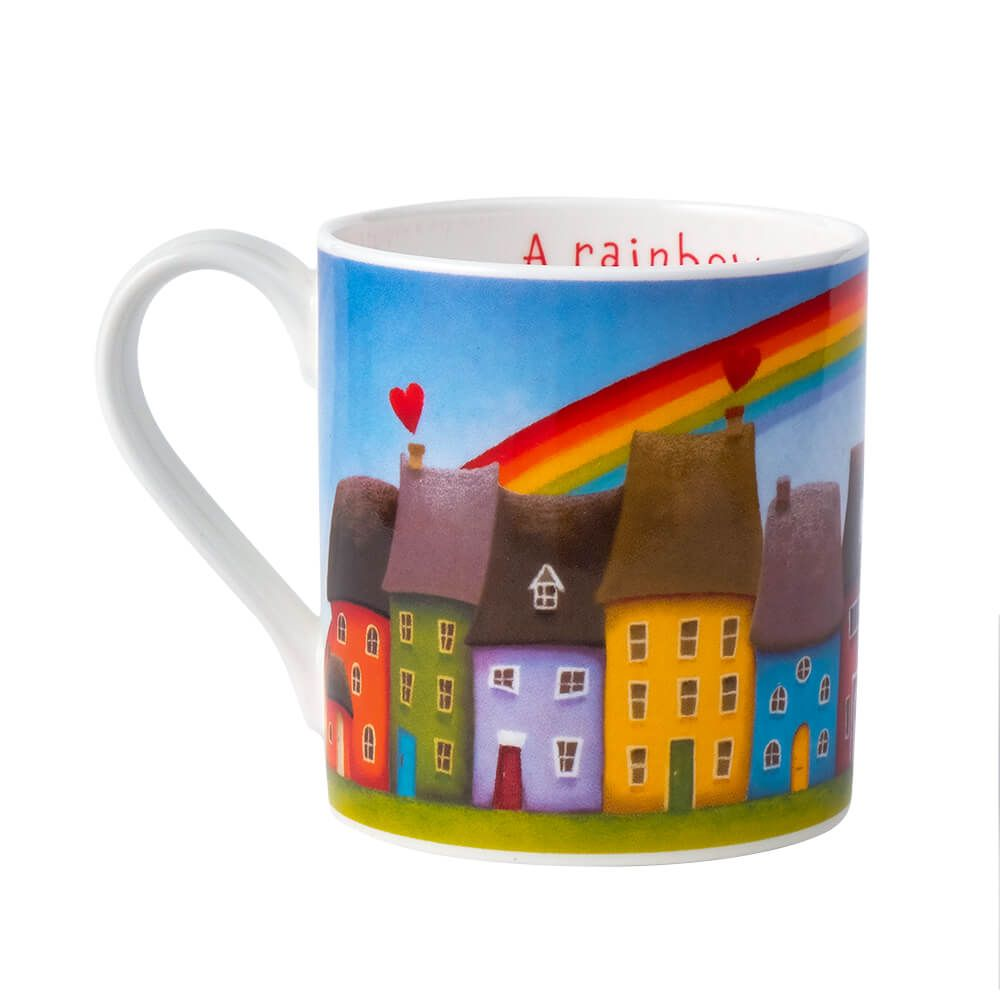 lucy pittaway a rainbow of hope mug