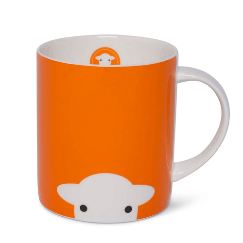 Herdy Peep Mug Orange