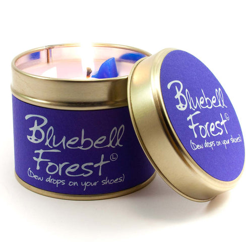 Lily Flame Candles Bluebell Forest