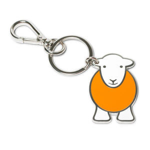 herdy yan sheep keyring orange