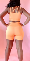 Signature seamless Orange set
